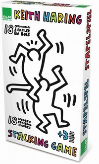 Figuras apilables Keith Haring